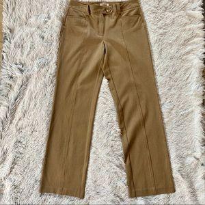 Talbots Tan Trousers Size 6